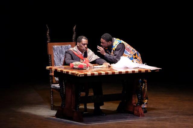 Jomo Kenyatta and Oginga Odinga