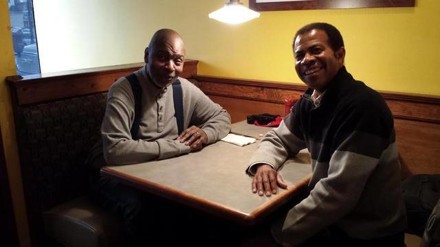 Librettist Richard Wesley and composer Trent Johnson